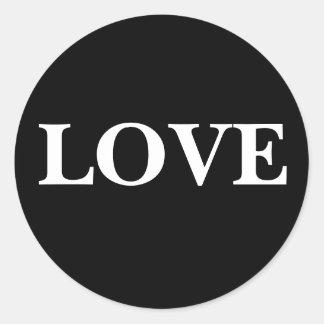 Stylish Love Invitation Sticker