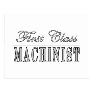 Stylish Machinists : First Class Machinist Postcard