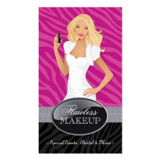 Stylish Makeup Artist Business Cards