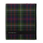 Stylish Malcolm Tartan Plaid Custom iPad Case
