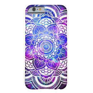 Stylish Mandala Galaxy Purple Blue iPhone 6 Case