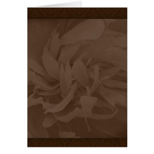 Stylish maroon blossom wedding gift cards