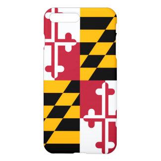 Stylish Maryland State Flag Decor iPhone 8 Plus/7 Plus Case
