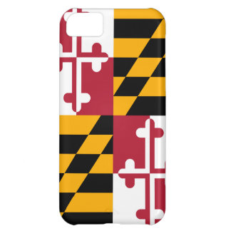 Stylish Maryland State Flag Design Case For iPhone 5C