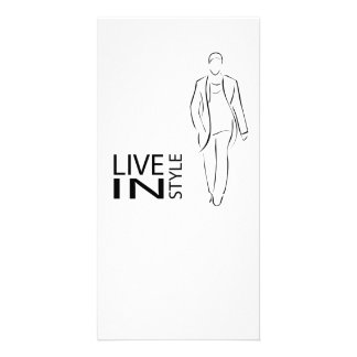 Stylish men card