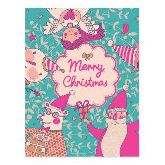 Stylish Merry Christmas Card