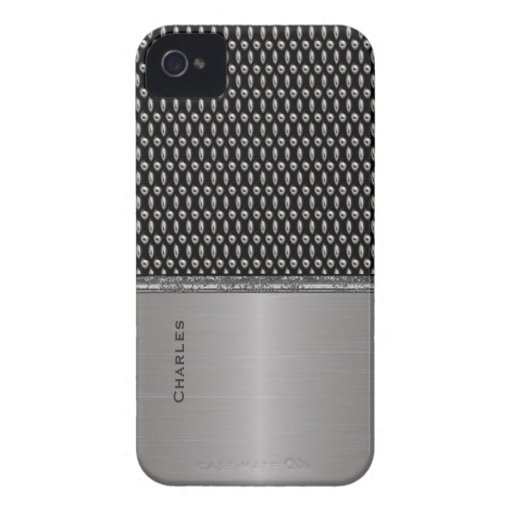 Stylish Metallic Look iPhone 4 Case