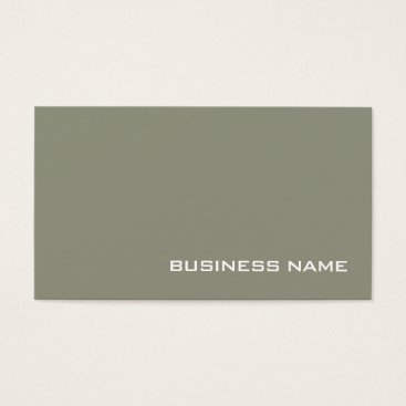 Stylish Minimalistic Monogram Design Modern Luxe Business Card