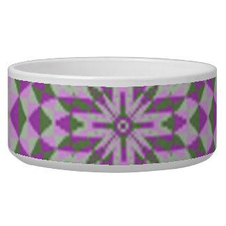 Stylish modern art dog water bowls