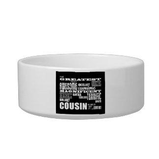 Stylish Modern & Fun Cousins : Greatest Cousin Cat Bowls