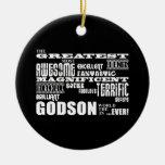Stylish Modern & Fun Godsons : Greatest Godson Ornament