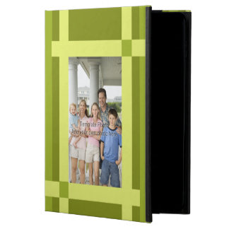 Stylish Modern green scheme photo templete Powis iPad Air 2 Case