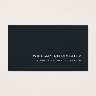 Stylish Modern Greyish Blue Sophisticated Trendy Business Card