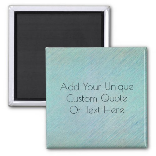 Stylish Modern Look Personalized Custom Text Quot Magnet