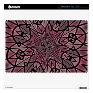 Stylish modern pattern skin for MacBook