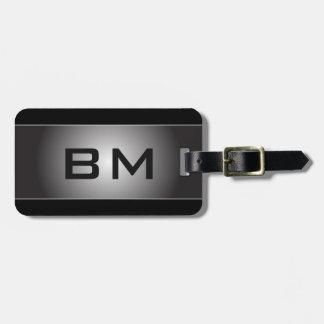 Stylish Monogram Luggage Tag