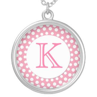 Stylish Monogram Necklace