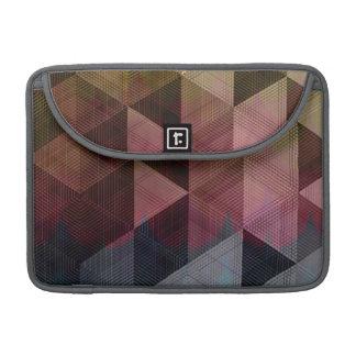 Stylish multi-facted Laptop Sleeve MacBook Pro Sleeve