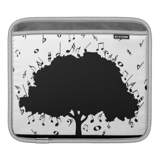 Stylish Music Tree Sleeve For iPads