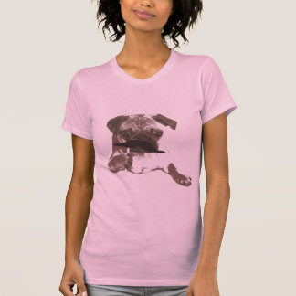 Stylish Mustache Pug Shirt