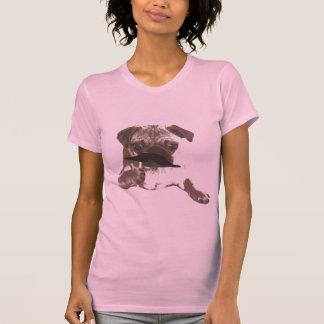 Stylish Mustache Pug Shirt
