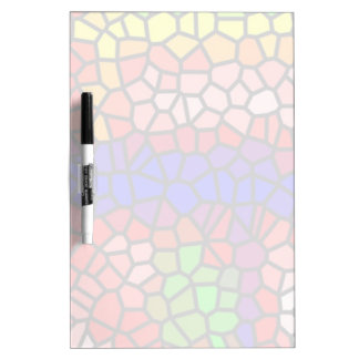 Stylish mutlicolored stained glass Dry-Erase board