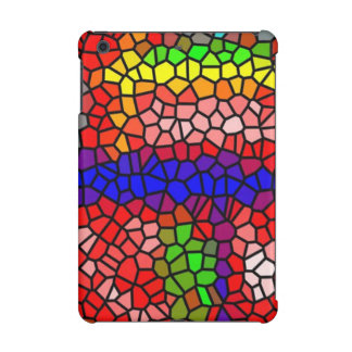 Stylish mutlicolored stained glass iPad mini retina cases