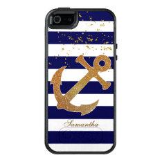 Stylish Nautical Otterbox Iphone 5s Case at Zazzle