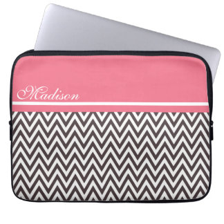 Stylish Neapolitan Chevron Laptop Sleeve 13""