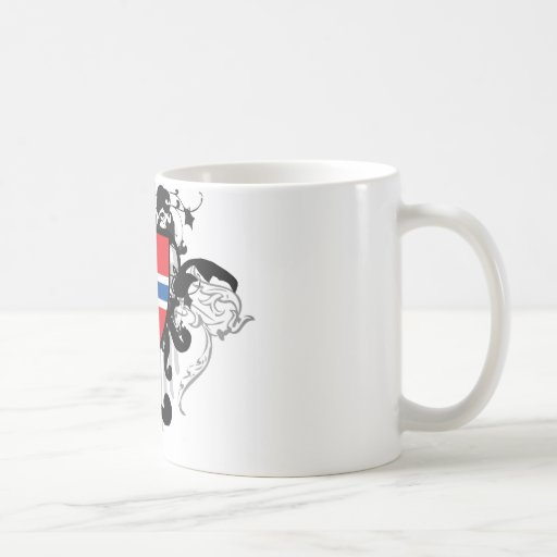 Stylish Norway Classic White Coffee Mug
