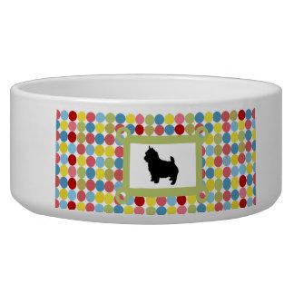 Stylish Norwich Terrier Dog Food Bowl