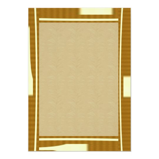 Stylish NOVINO Border n Babysoft Golden Leaves Card