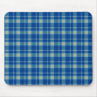 Stylish original blue Scottish tartan plaid… Mouse Pad
