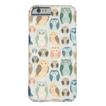 Stylish Owl Pattern- complementary colors iPhone 6 Case