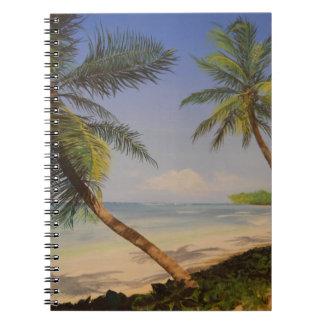 Stylish Palm Tree Notebook