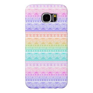 Stylish Pastels Aztec Pattern Galaxy S6 Case