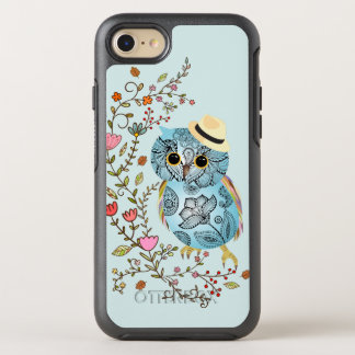 Stylish Pattern Owl iPhone 6 Symmetry Series OtterBox Symmetry iPhone 7 Case