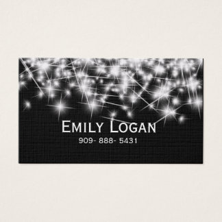 Stylish Personalized Blinking Start business card