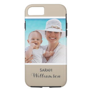 Stylish Personalized Photo - Easy Custom Your Own iPhone 7 Case