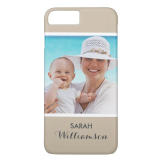 Stylish Personalized Photo - Easy Custom Your Own iPhone 7 Plus Case
