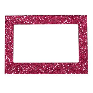 Stylish Pink Glitter Magnetic Frame