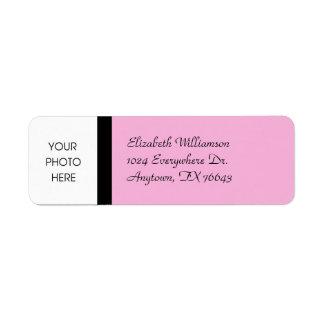 Stylish Pink Label