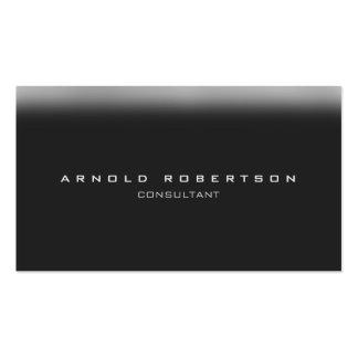 Stylish Plain Grey Professional Business Card