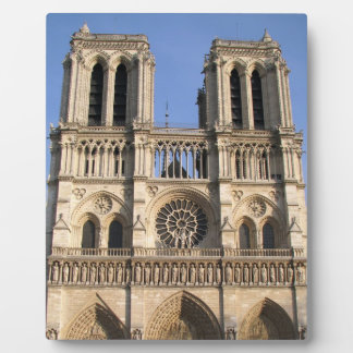 Stylish Plaque with Notre Dame de Paris