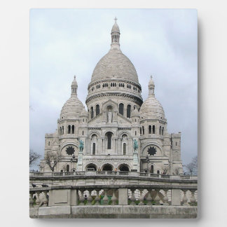 Stylish Plaque with Sacre Coeur de Paris