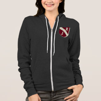 Stylish pocket shield with your initials hoodie