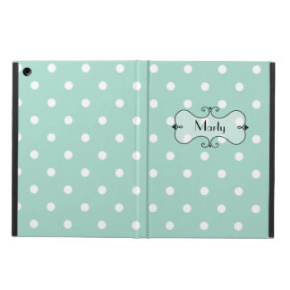 Stylish Polka Dot iPad Air Case with Stand