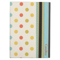 Stylish Polka Dots Custom iPad Air Case