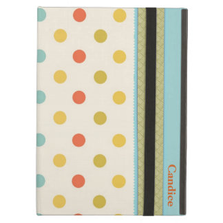 Stylish Polka Dots Custom iPad Air Case