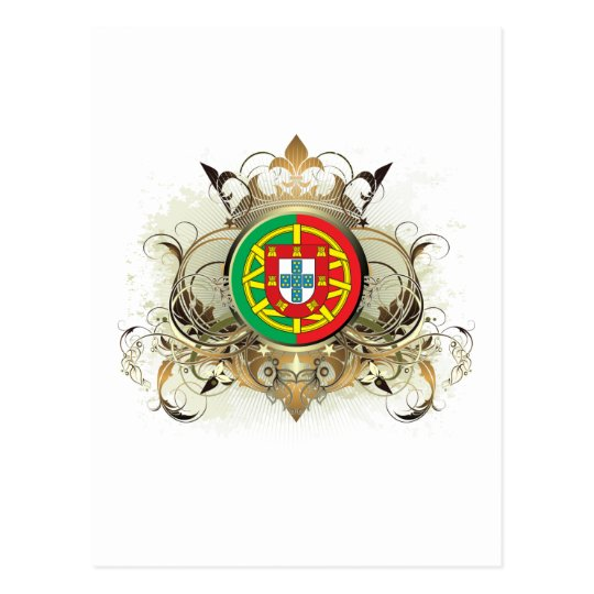 Stylish Portugal Postcard